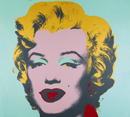 Andy Warhol, <em>Marilyn Monroe</em>, 1967, screenprint, signed in pencil and dated verso, 91 x 91 cm, Edition of 250. Image: Courtesy of Sotheby's