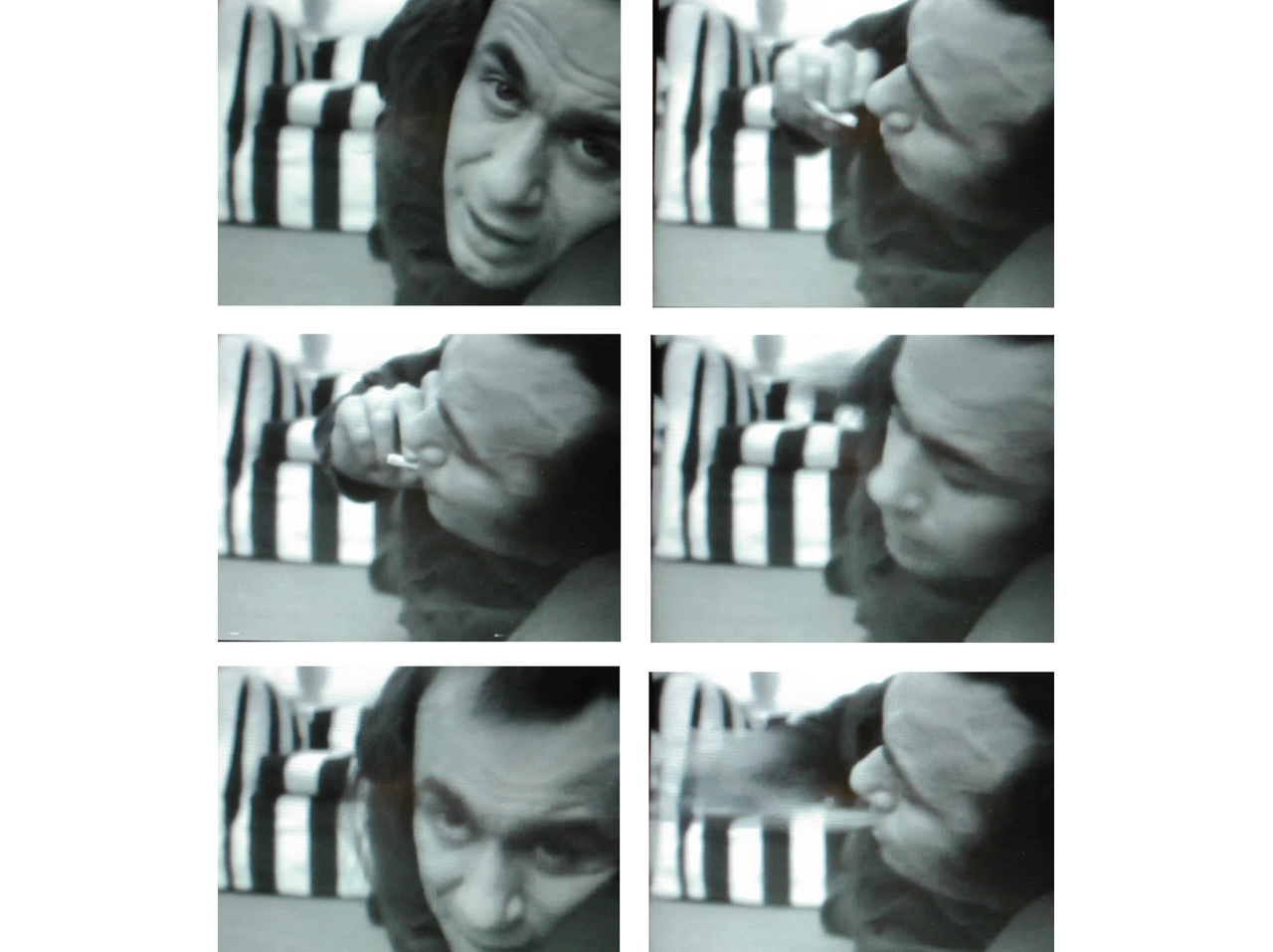 Vito Acconci, Theme Song, 1973. Courtesy: Acconci Studio, Brooklyn