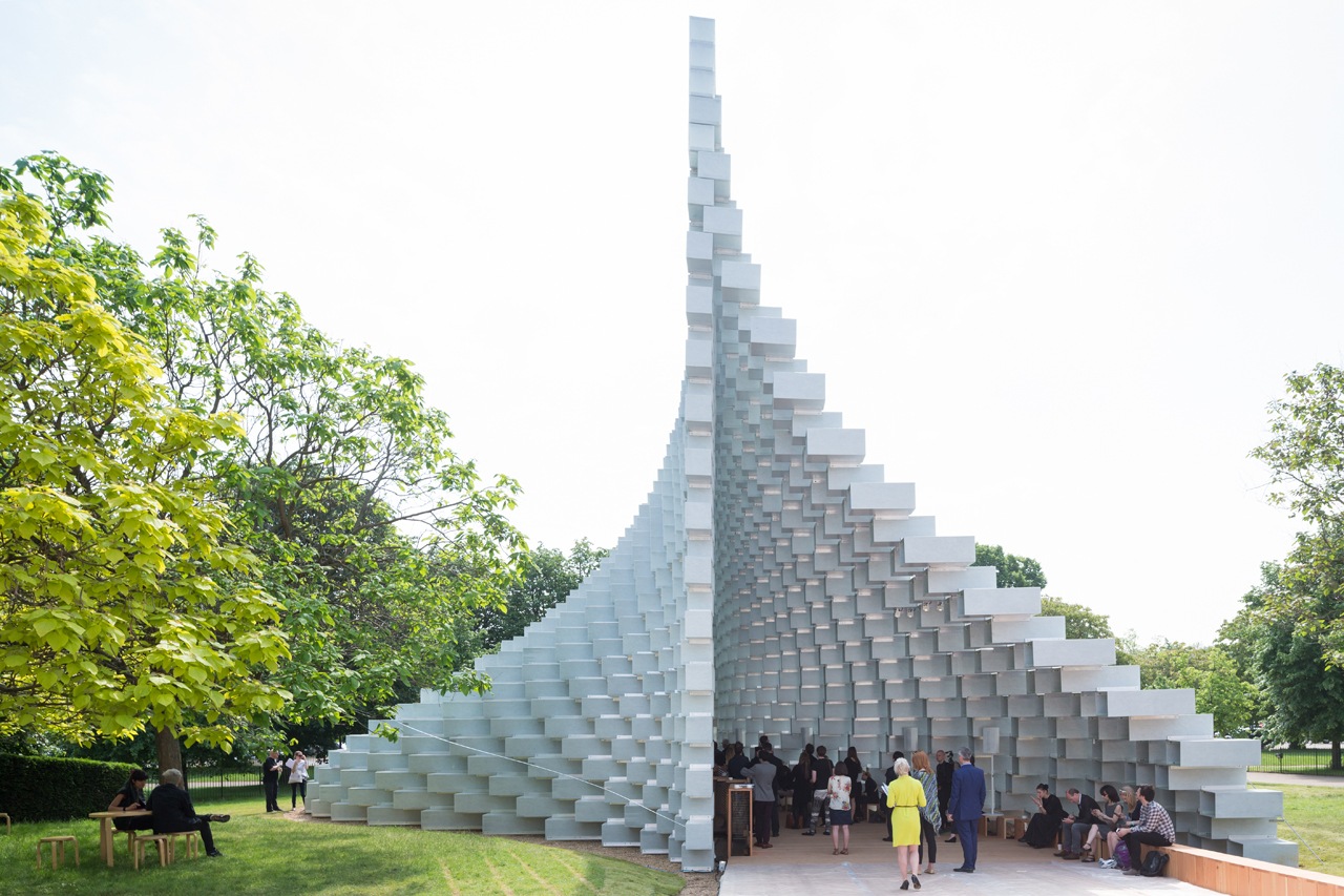 Bjarke Ingels Group, Serpentine Pavilion,2016. © Iwan Baan