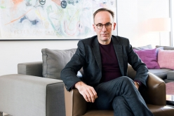 Matthias Birkholz at home. Image: © Petrov Ahner