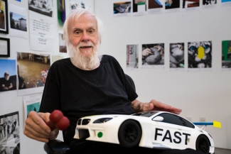 John Baldessari, 2016. Courtesy: BMW