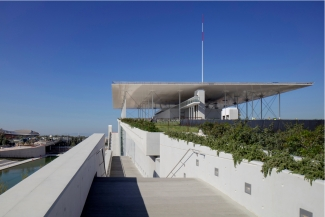 The Stavros Niarchos Foundation Culture Centre. © Renzo Piano Building Workshop, Courtesy: Michel Denancé