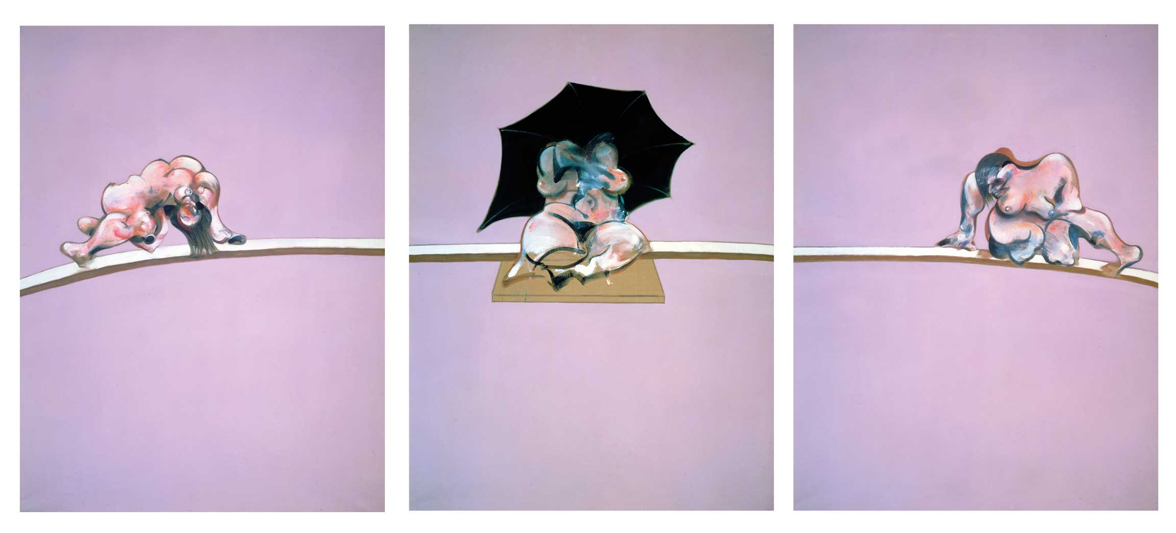 Francis Bacon, Studies of the Human Body, 1970, Oil on canvas. © The Estate of Francis Bacon, All rights reserved, DACS 2016, Courtesy: Ordovas