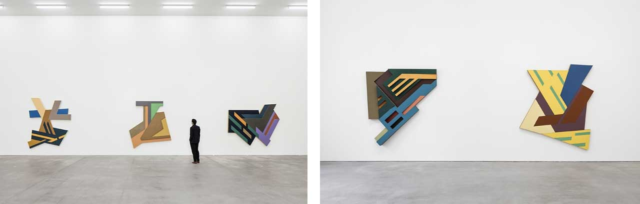 'Frank Stella', 2016, Exhibition view, Sprüth Magers. Courtesy: Sprüth Magers, Berlin