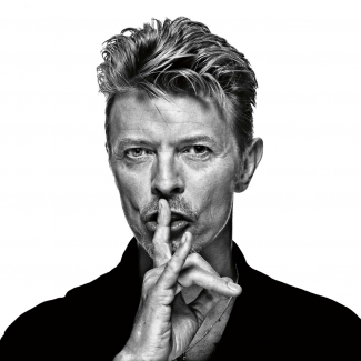 Gavin Evans, David Bowie from Bowie- The Session, 1996, Photograph. © Gavin Evans