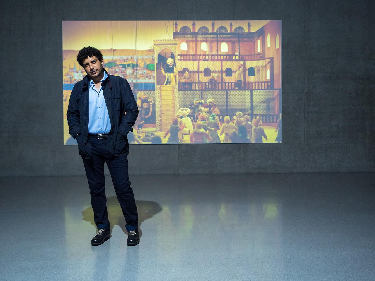 Wael Shawky. © Miro Kuzmanovic, Courtesy: Kunsthaus Bregenz