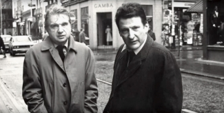 Francis Bacon and Lucian Freud. Source: YouTube