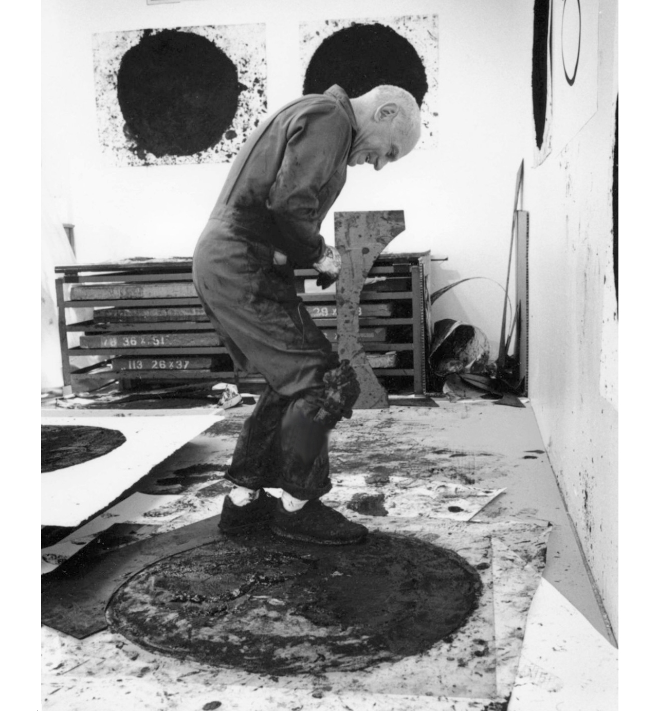 Richard Serra. Courtesy: Stanley Felsen