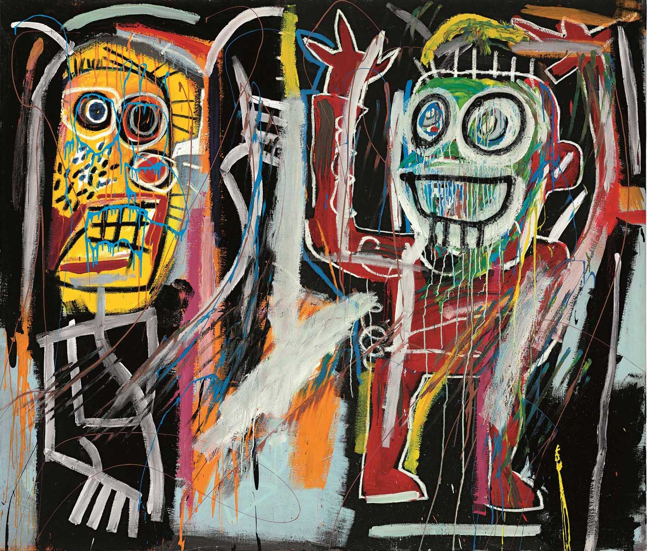 Jean-Michel Basquiat, Dustheads, 1982. Source: Christie's Images Ltd. 2013