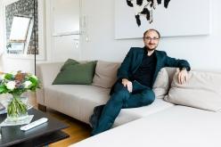 Sebastian Peichl at home. Image: © Petrov Ahner