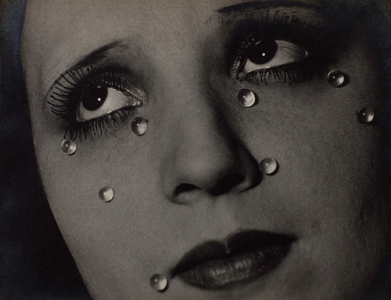 Man Ray, Glass Tears, Gelatin silver print. © Man Ray Trust/ADAGP, Paris and DACS, London
