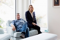 Torsten and Christina Kunert at home in Berlin. © Petrov Ahner