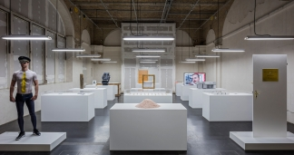 Simon Fujiwara, The Happy Museum, 2016. Berlin Biennale 9. Courtesy: Simon Fujiwara. Image: © Timo Ohler