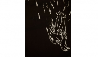Georg Baselitz, Adler (Eagle), 1982. From the portfolio Erste Konzentration I, Galerie Sabine Knust, Munich, 1982