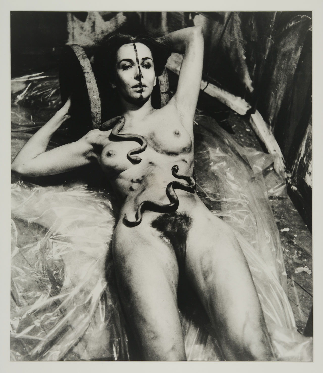 Carolee Schneemann, Eye Body: 36 Transformative Actions for Camera, 1963. VG Bild-Kunst, Bonn 2017, Courtesy: Carolee Schneemann, Erró (*1932)