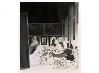 Richard Hamilton, Picasso's Meninas, 1973. Courtesy: Shapero Modern, London