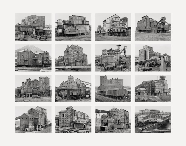 Bernd and Hilla Becher, Aufbereitungsanlagen, 2008, Digital ditone pigment print on photo paper. Courtesy: Schellmann Art, Munich, New York