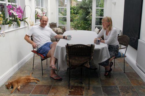 Brendan and Fiona Finucane