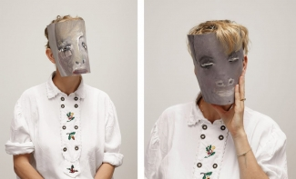 Portraits of Laure Prouvost. Photos: Gene Pittman. Courtesy of the Walker Art Center, Minneapolis
