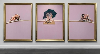 Francis Bacon, Triptych - Studies of the Human Body, 1970. Photo: Maris Hutchinson. Courtesy of Ordovas Gallery, New York