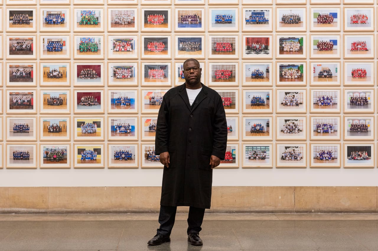 Portrait of Steve McQueen in Year 3 at Tate Britain. Image:  © Tate. Photo by Jessica McDermott