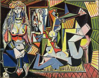 Pablo Picasso, Les Femmes d'Alger (Version O), 14.2.1955. Image: Bridgeman Images/Succession Picasso/VG Bild-Kunst, Bonn, 2021