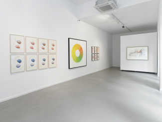 Installation view, Spectrum at the Kunsthalle Koidl. Image: © fineartmultiple