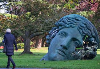 Frieze London Sculpture Park, sculpture by Daniel Arsham