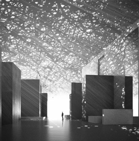 Louvre Abu Dhabi, Abu Dhabi, UAE. © TDIC, Courtesy: Atelier Jean Nouvel, Artefactory, Louvre Abu Dhabi