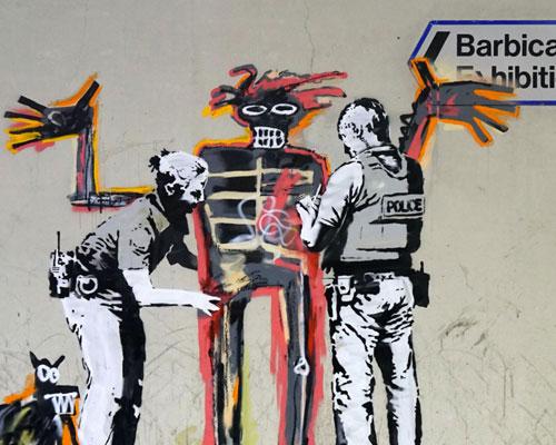 Banksy and Jean-Michel Basquiat