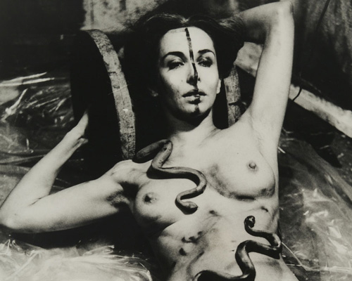 Carolee Schneemann, Eye Body: 36 Transformative Actions for Camera