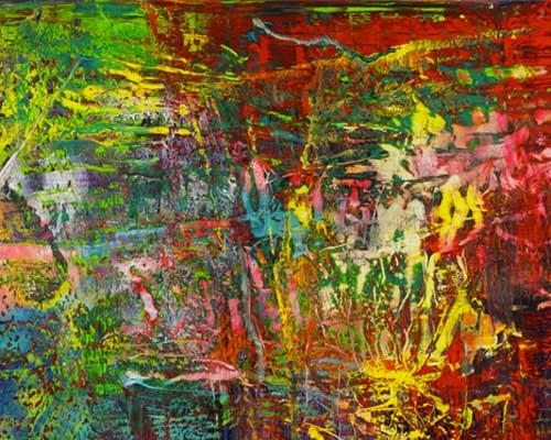 Gerhard Richer, Abstraktes Bild