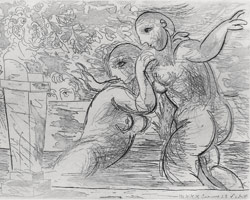 Pablo Picasso, The Surprised Bathing Women