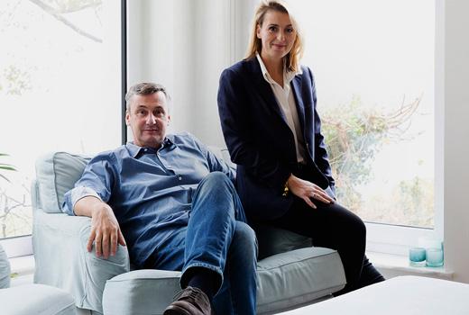 Berlin collector Torsten and Christina Kunert