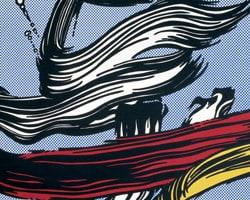 Roy Lichtenstein, Brushstrokes, 1967