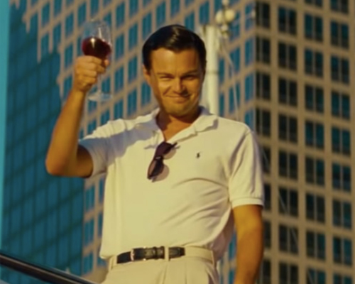 Leonardo DiCaprio – The Wolf of Wallstreet