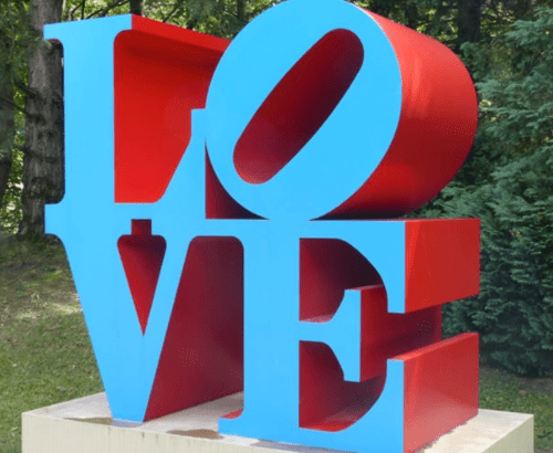 LOVE – Robert Indiana