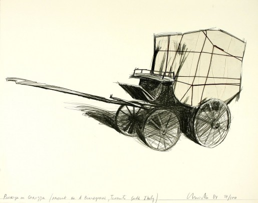 Christo, Package on Carrozza, 1984