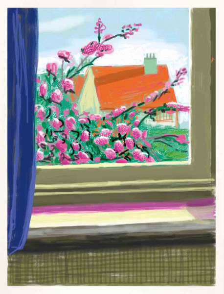 David Hockney, My Window 'No. 778', 2011-2019