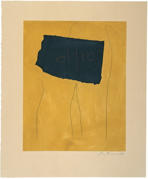 Robert Motherwell, Oy/Yo, 1978