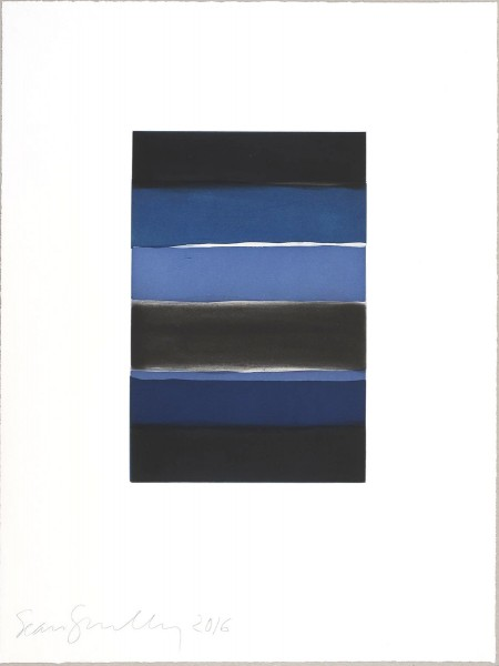 Sean Scully, Landline Blue, 2016
