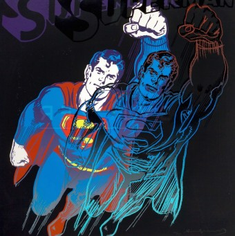 "Superman (FS II.260), from the Portfolio ""Myths"" by Andy Warhol"