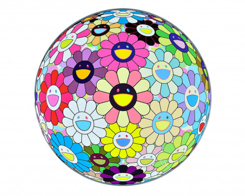 Flower Ball: Lots of Colors by Takashi Murakami