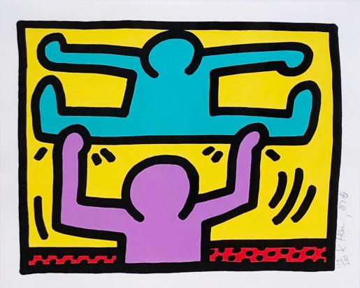 Keith Haring, Pop Shop I (D), 1987
