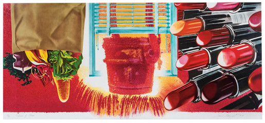 James Rosenquist, House of Fire, 1989