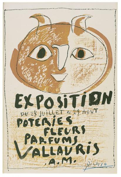 Pablo Picasso, Troisième Affiche Vallauris, 1948