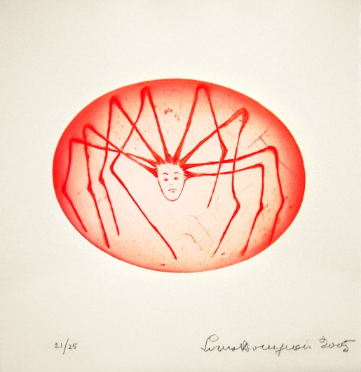 Louise Bourgeois, Spider Woman, 2005