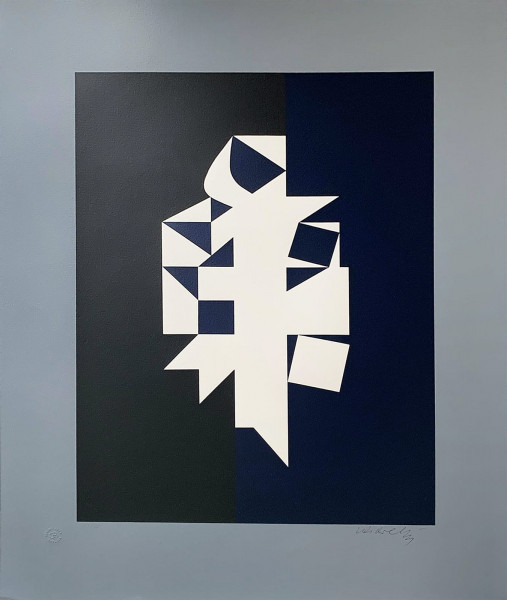 Victor Vasarely, Erebus VY-38, 1961
