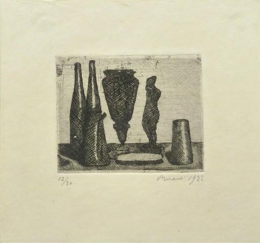 Giorgio Morandi, Still Life with Small Statue / Natura Morta con la Statuina, 1922
