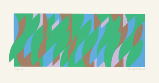 Bridget Riley, Leap, 2008
